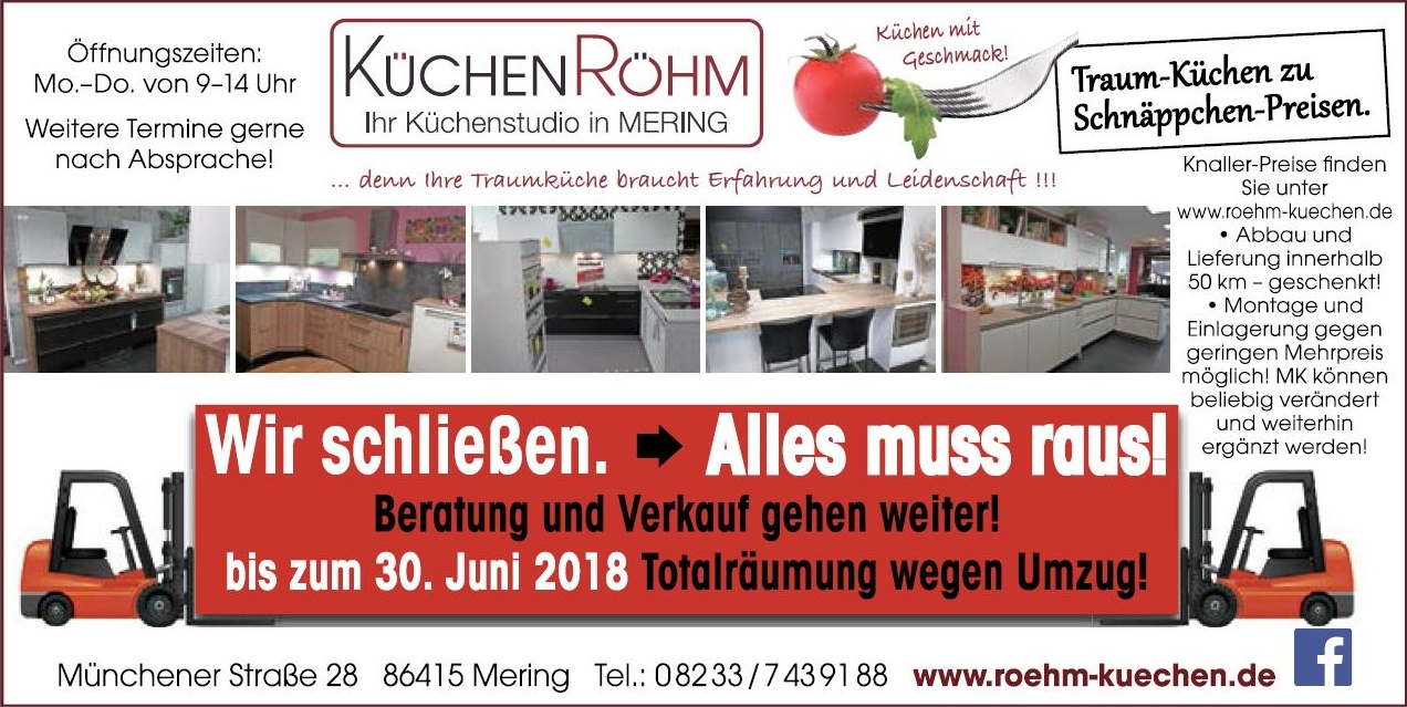 roehm alles muss raus 30 04 2018